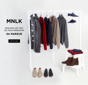 Nouvelle collection MNLK by Menlook