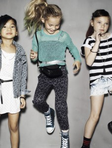 Collection Enfants ROCK POP Benetton