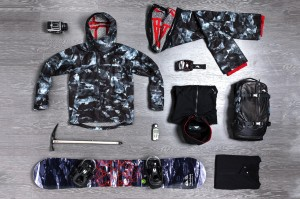 Collection Snow Quiksilver x ISAORA