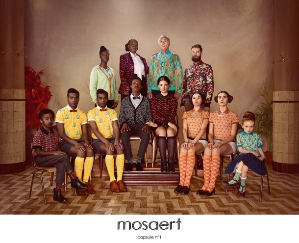 Mosaert, la nouvelle marque de vêtements by Stromae
