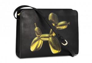 Un sac H&M dessiné par Jeff Koons