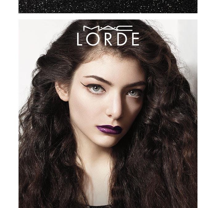 Collection cosmétiques Lorde M.A.C
