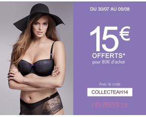 Bon plan pour les nouvelles collections Aubade, Chantelle, Chantal Thomass et Passionata