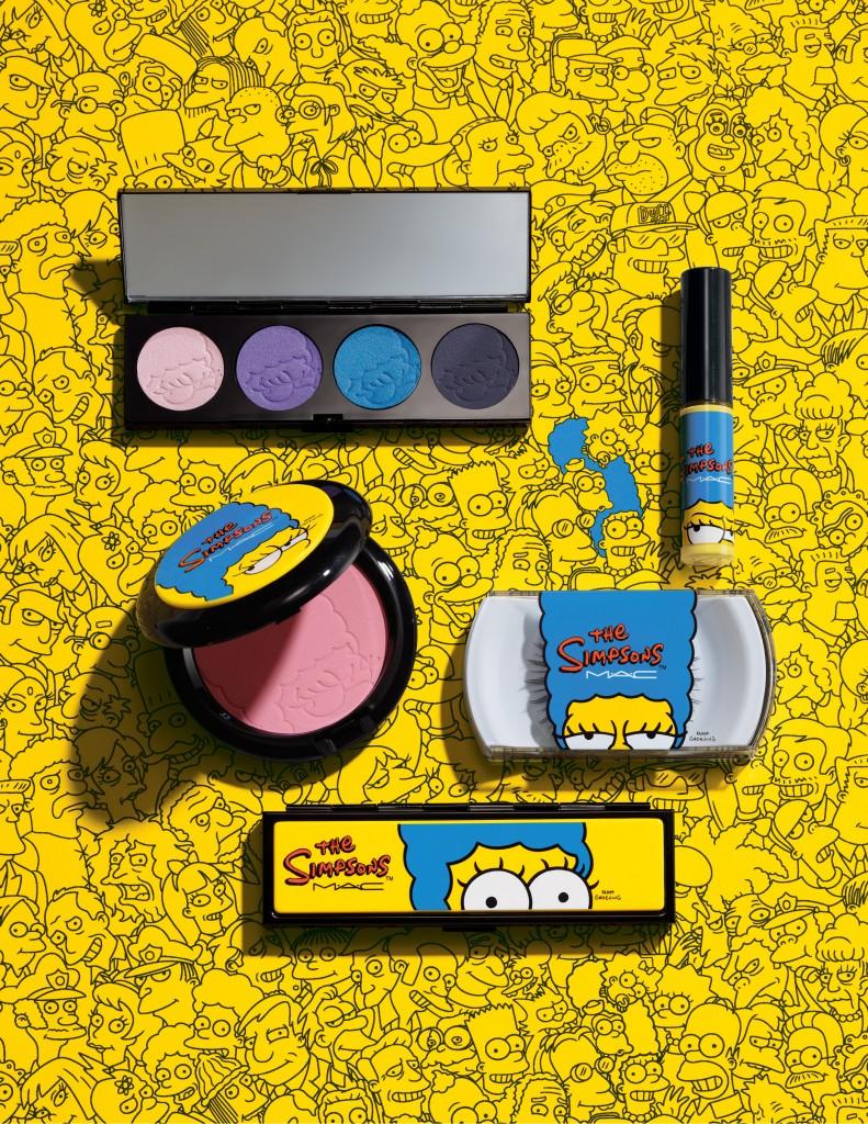Marge Simpsons égérie des cosmétiques MAC !