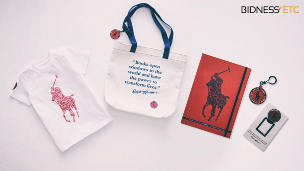 Une nouvelle collection Ralph Lauren pour l'alphabétisation des enfants
