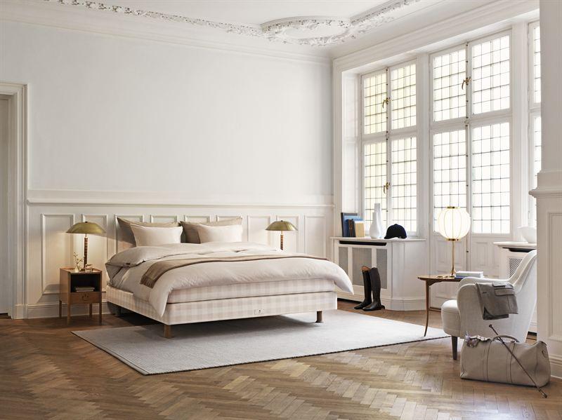Collection Hästens Stockholm White : lits et matelas luxe en édition limitée