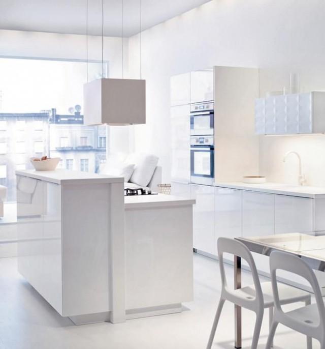 Nouveaut s ikea 2015 salle de bain et chambre en vedette - Ikea cuisine blanche ...