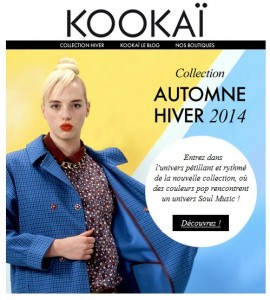 Zoom sur la nouvelle collection Kookaï 2014 2015