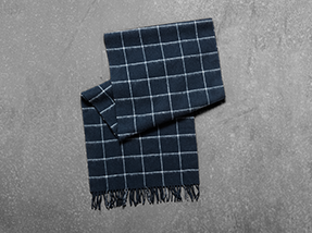 scarf-checkered