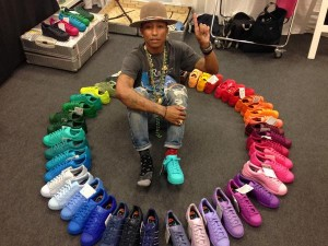 Nouvelle collection Adidas Superstar Pharrell Williams en mars
