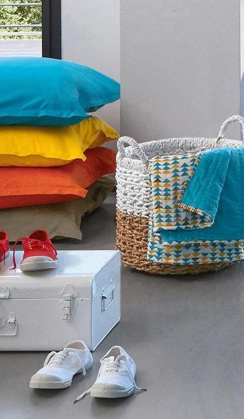 nouvelle collection maison la redoute x bensimon du linge color. Black Bedroom Furniture Sets. Home Design Ideas