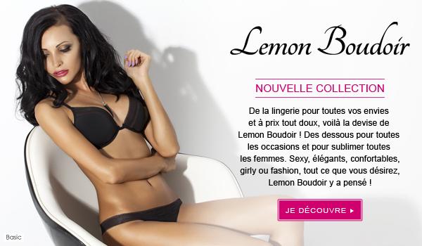 La nouvelle collection lingerie Lemon Boudoir + bon plan