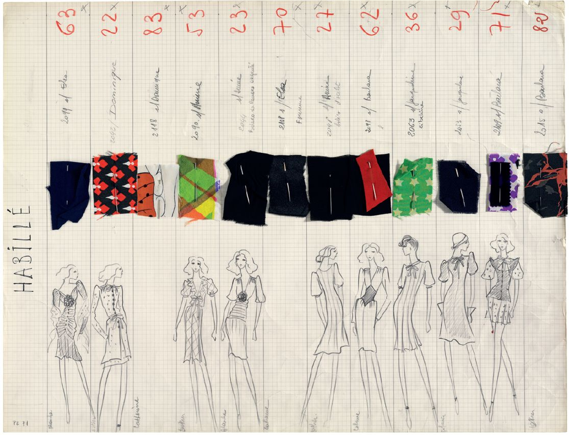 yves-saint-laurent-collection-1971