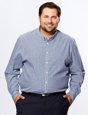 Chemise de ville en popeline Grande taille homme – Kiabi – 26,00€