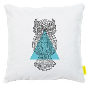 Coussin hibou An Famille | La Redoute