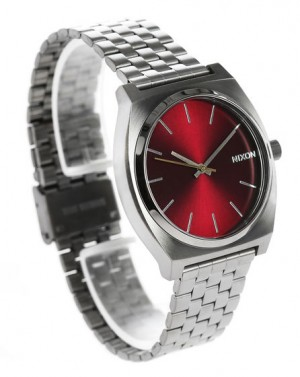 Montre Time Teller Gunmetal & Bordeaux EXCLUSIVITE 5 ANS MENLOOK NIXON homme, Montres Gris  ...