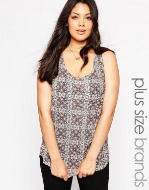 New Look Inspire   New Look Inspire – Débardeur imprimé aztèque zippé au dos chez ASOS