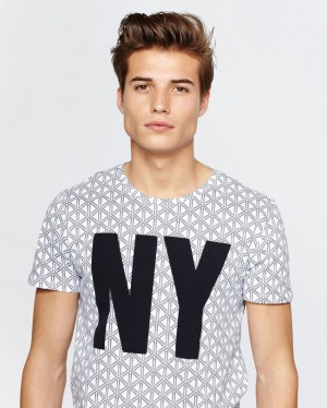 T-SHIRT NY HOMME | 78958593 – WE Fashion