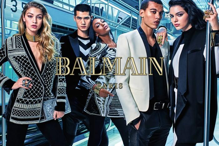 Suivez le défilé de la collection Balmain pour H&M en direct