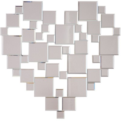 Miroir Coeur Decoration Murale Decoration Gifi Newkoll Com