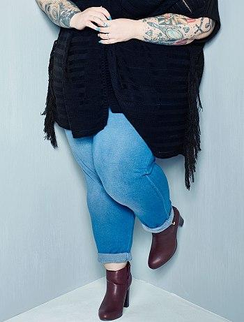 pantalon coupe jogging grande taille femme kiabi 17 50. Black Bedroom Furniture Sets. Home Design Ideas