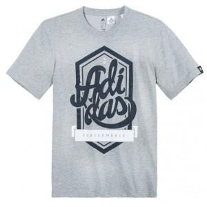 T-shirt manches courtes Adidas | La Redoute