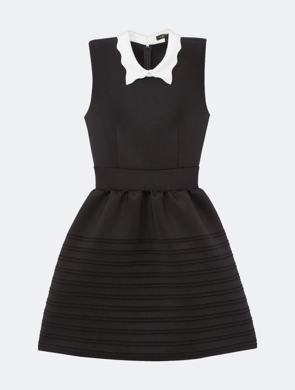 robe-noire-maje