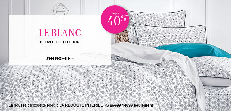 nouvelle collection linge de maison la redoute. Black Bedroom Furniture Sets. Home Design Ideas