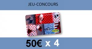 Jeu concours nouvelle collection Ikea : gagnez des cartes cadeaux