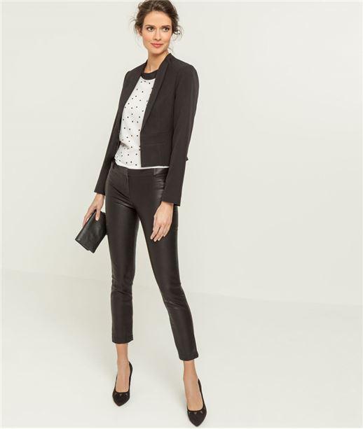 Petite veste courte noire