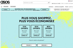 Code promo ASOS : Shoppez & Economisez jusqu'à 40 euros