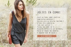 Nouvelle collection de combis Promod