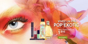 Yves Rocher : une édition limitée POP'EXOTIC