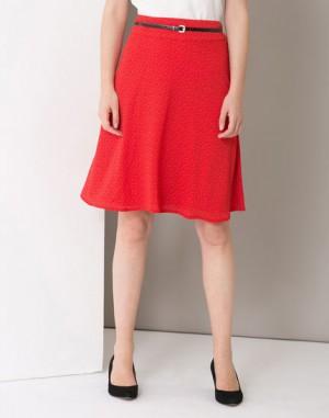 Jupe rouge imprimée Juliette – 123