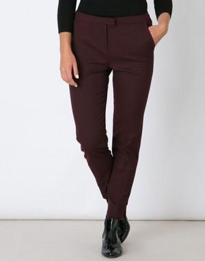 Pantalon bordeaux droit Lara – 123