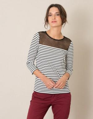 Tee-shirt rayé Larson – 123