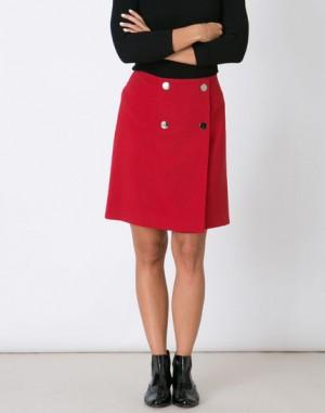 Jupe rouge portefeuille Joyce – 123