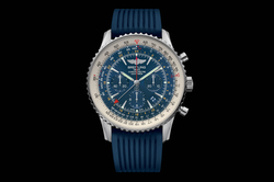 Navitimer GMT Aurora Blue – Breitling – Instruments for Professionals