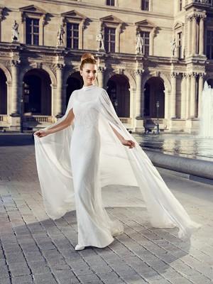 Robe de mariée Dorian, robe de mariée dentelle, robe de mariage petites manches – Pronuptia