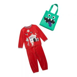 Pyjama Rouge vermillon Juluage – SERGENT MAJOR