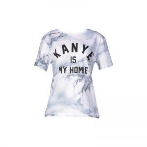 T-shirt coton printé Fanye – Eleven Paris