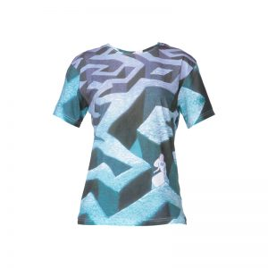 T-shirt coton printé Alice – Eleven Paris