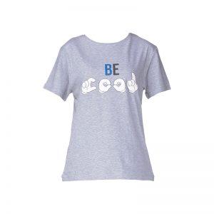 T-shirt gris printé Hool – Eleven Paris