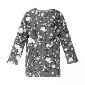 Manteau 3/4 texturé gris Sonia – Molly Bracken