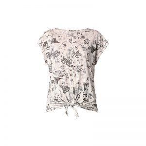 T-shirt blanc imprimé ludique Fuxi – Diesel