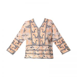 Top fleurs brodées Aldo – Antik Batik