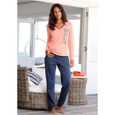 prix de gros réflexions sur pas cher à vendre Lot De 2 Pyjamas Manches Longues En Coton Femme Vivance - 3 Suisses