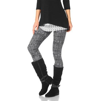 Leggings Imprimé Effet Maille Tweed Femme Boysen's 3 Suisses