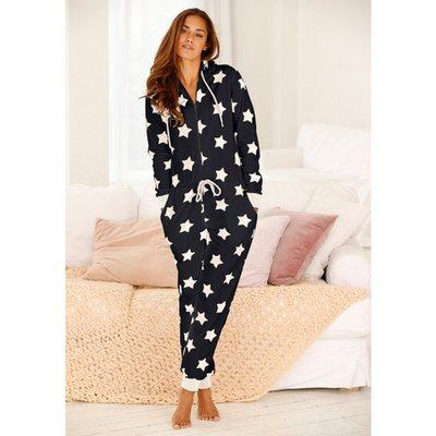 détaillant en ligne 3497c ffc2b Pyjama Combinaison De Nuit Imprimé étoiles Femme Vivance ...