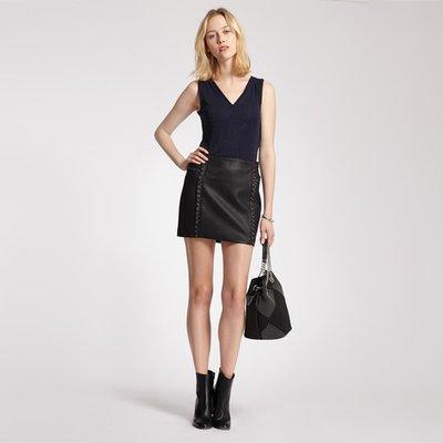 jupe courte droite femme morgan 3 suisses. Black Bedroom Furniture Sets. Home Design Ideas